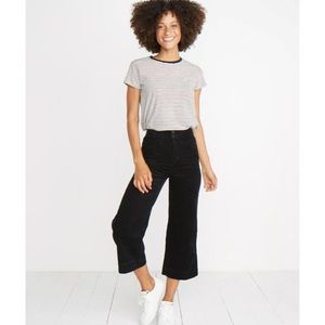NEW Marine Layer Black Tally Corduroy Pants